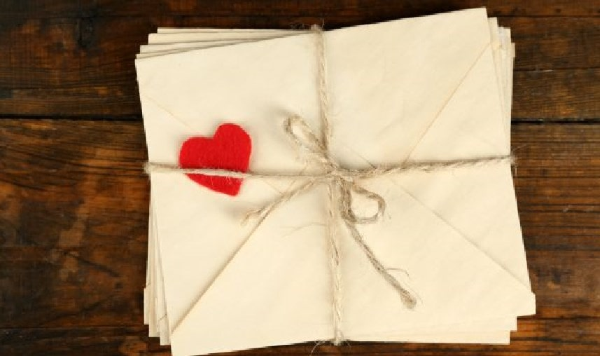 Le 13 lettere d'amore più belle e famose di sempre