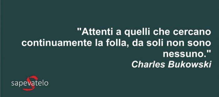 Favorito Charles Bukowski: Le frasi e gli aforismi più belli DE74