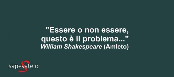 frasi di shakespeare