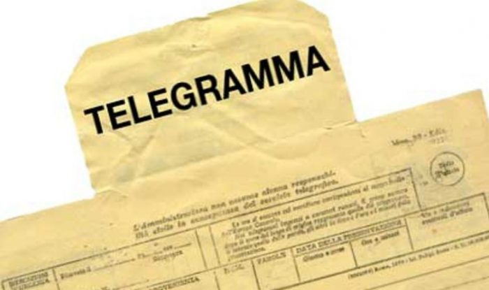 telegrammi condoglianze