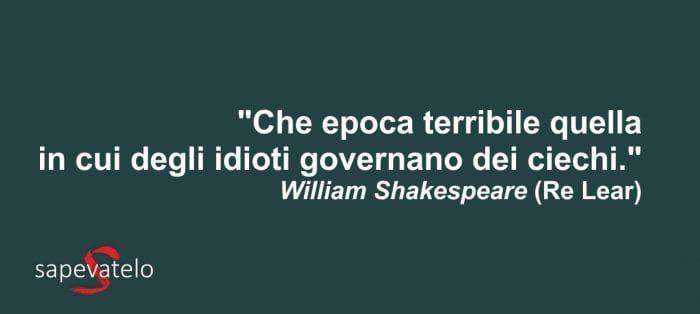 William Shakespeare Le Frasi E Gli Aforismi Piu Belli
