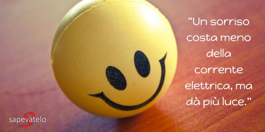 Conosciuto Frasi sul sorriso e sul sorridere, aforismi e citazioni SH63