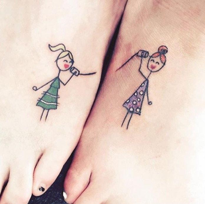 simboli tatuati
