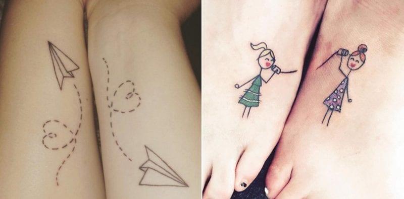 25 idee per condividere un tatuaggio con la migliore amica