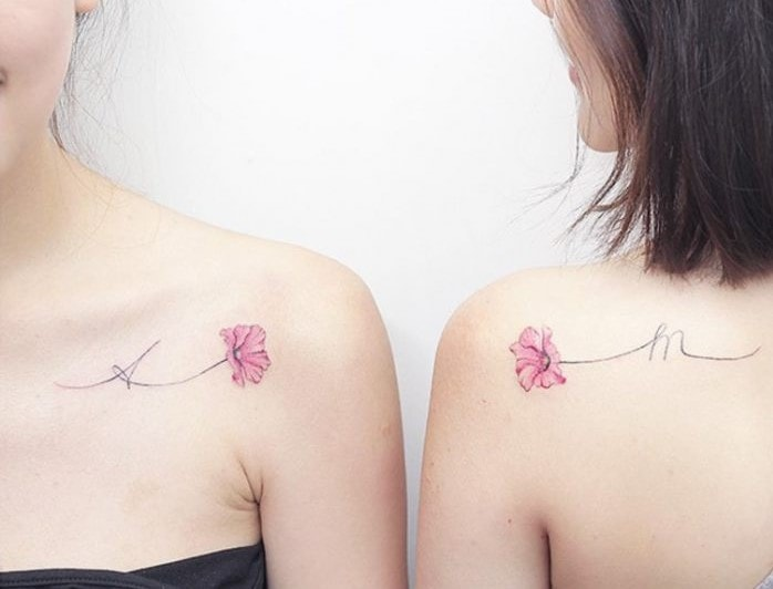 tatuaggio quadrifoglio