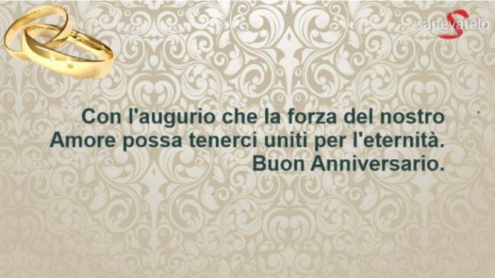 Belle frasi per festeggiare l 39 anniversario di matrimonio for Frasi per anniversario matrimonio 25 anni