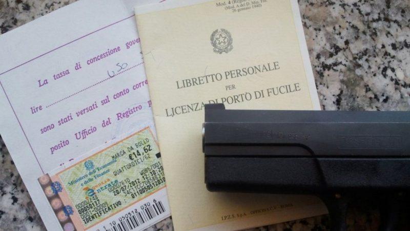 Porto d'armi: cosa fare per ottenere la licenza