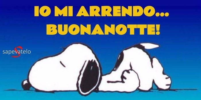 Buonanotte Snoopy