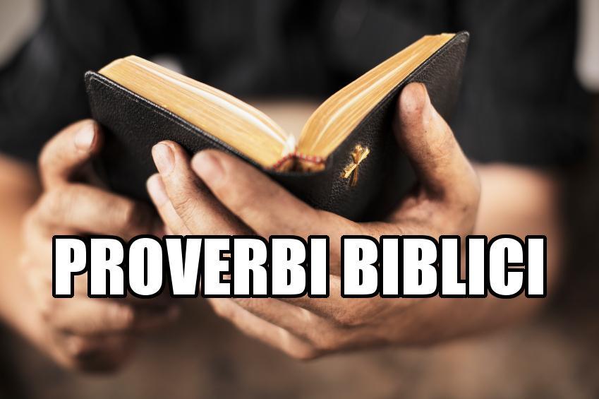 Proverbi biblici