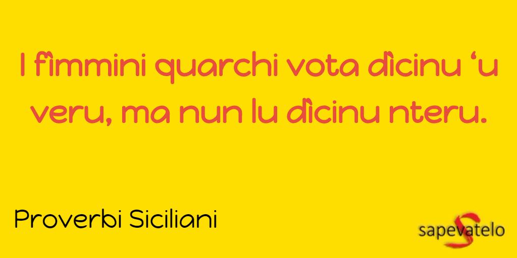 Detto siciliano