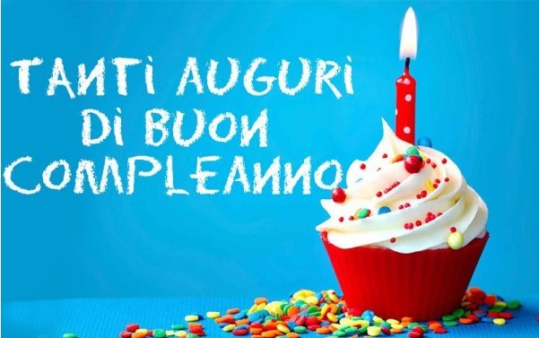 Buon compleanno dolce