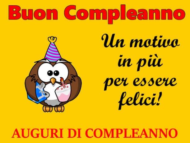 Molto Auguri di Buon Compleanno: le frasi e le foto migliori YI51