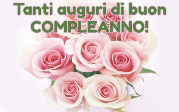 Buon compleanno rose