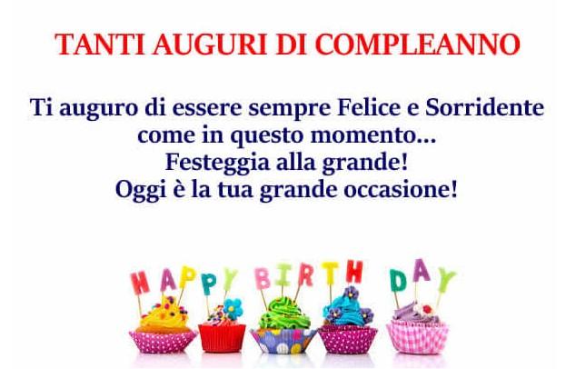 Tanti auguri di compleanno happy birthday