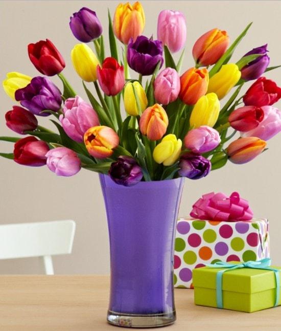bouquet di fiori per compleanno