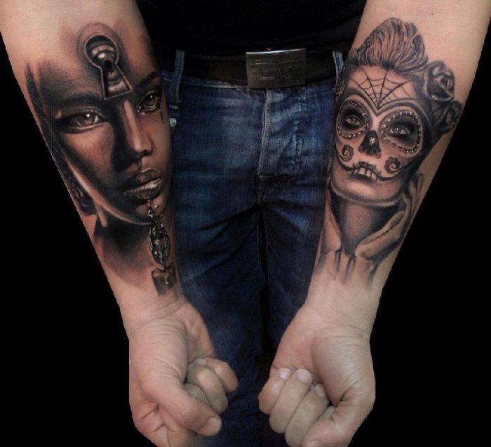 tatoo braccia