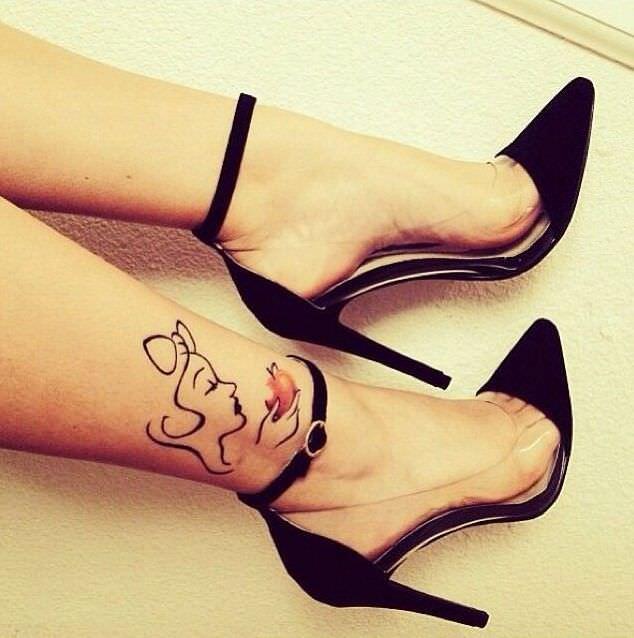 tatuaggi polpaccio
