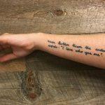 Tatuaggi con scritte: tante idee su come e dove farli