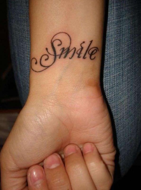 tatuaggi scritte polso