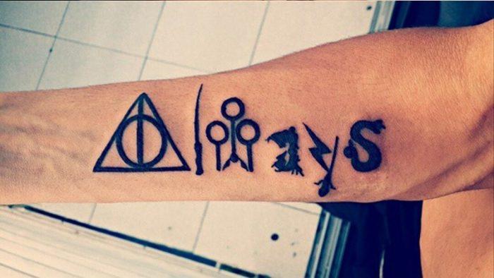 tatuaggio scritta always