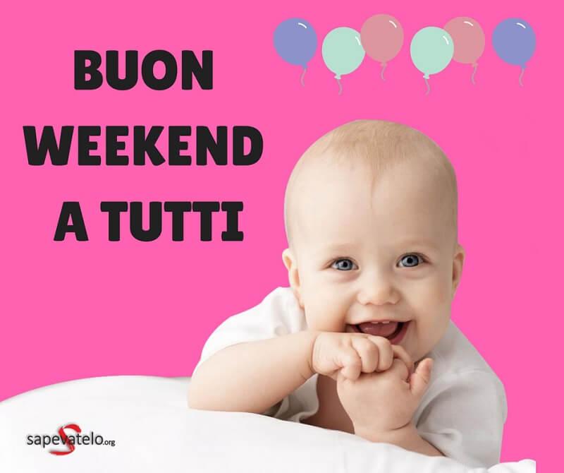 buon weekend a tutti