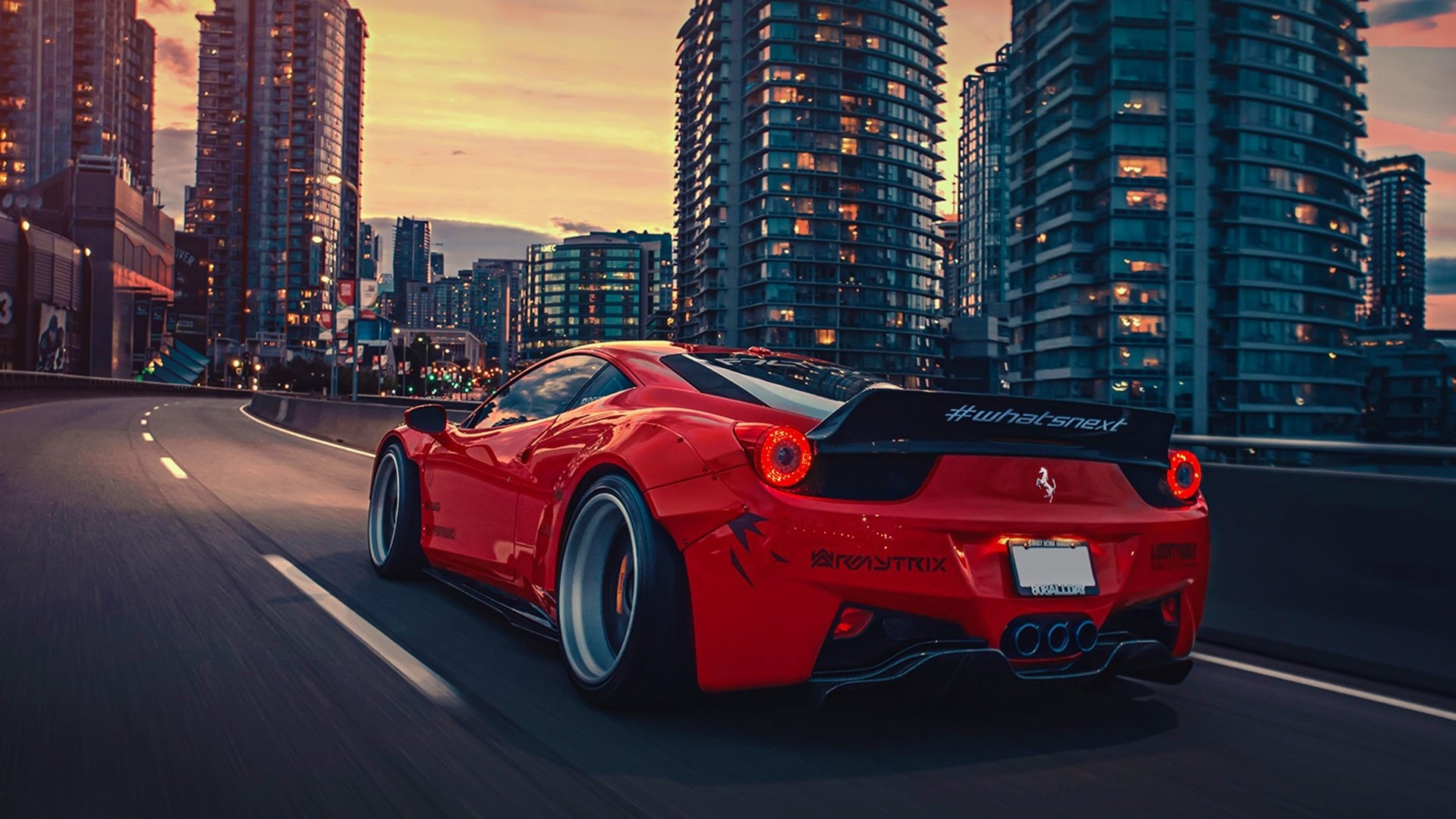 Ferrari 458 Full HD Wallpaper and Background
