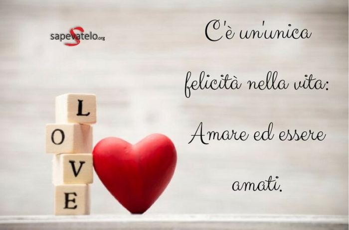 Frasi Felicita Amore.Frasi Amore