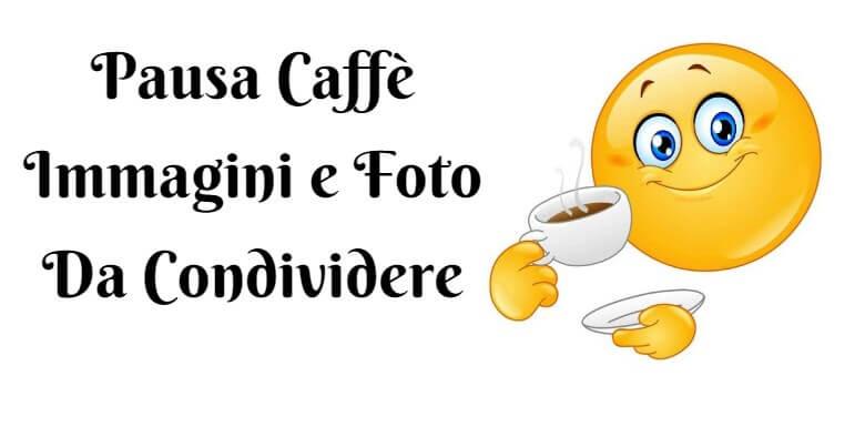 Pausa Caffè foto da condividere