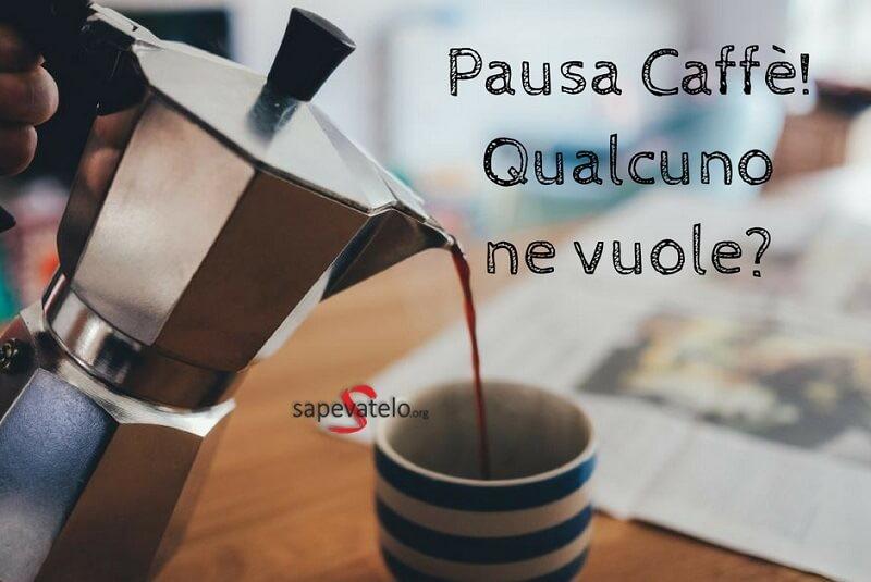Immagini pausa caffè