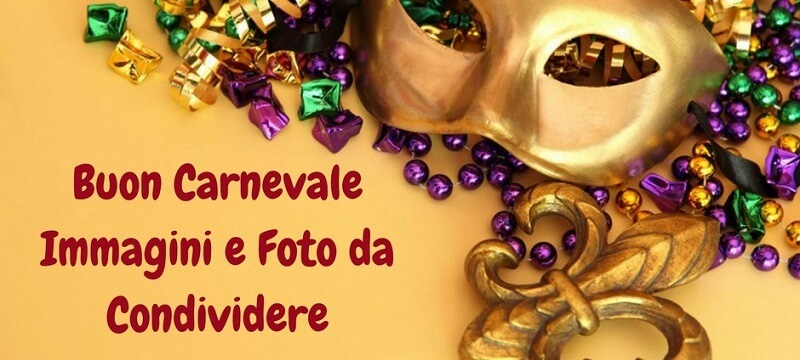 Foto Carnevale da condividere