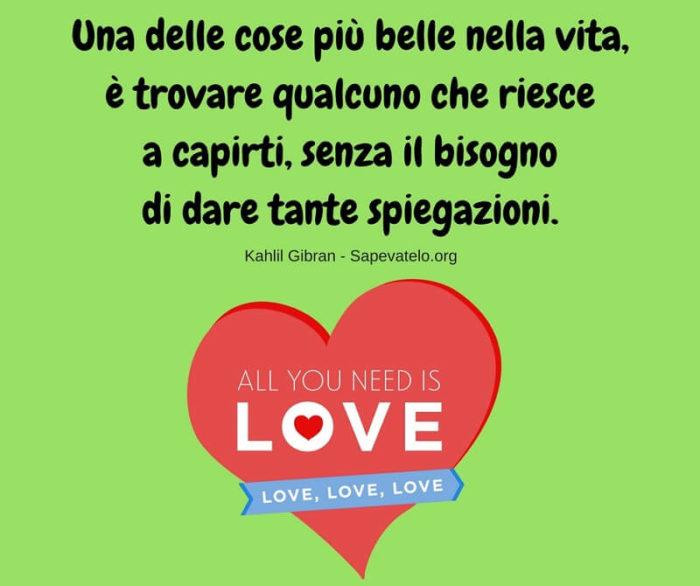 Frasi d'amore belle