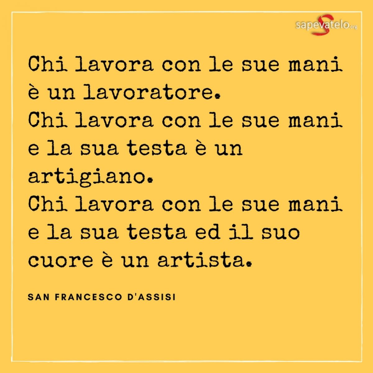 Frasi Matrimonio San Francesco.Frasi Celebri 8 Sapevatelo