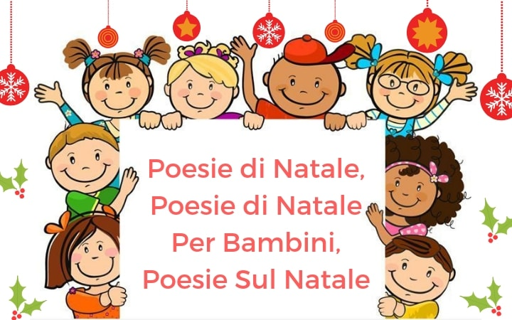 Poesie di Natale, Poesie di Natale Per Bambini, Poesie Sul Natale