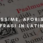 Massime, aforismi e frasi in latino