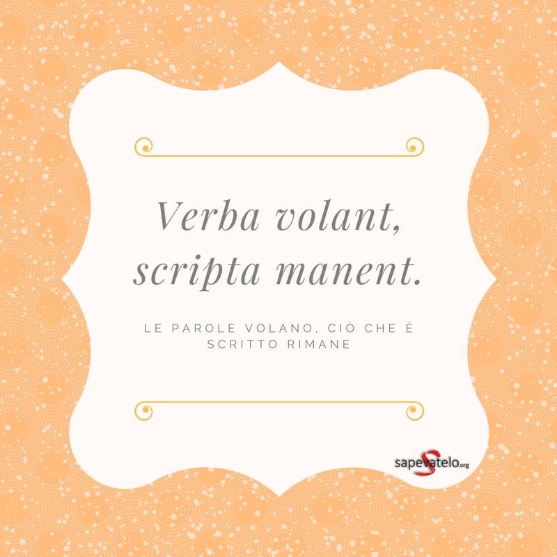 frasi famose in latino