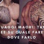 Tatuaggi Maori: tante idee su quale fare e dove farlo
