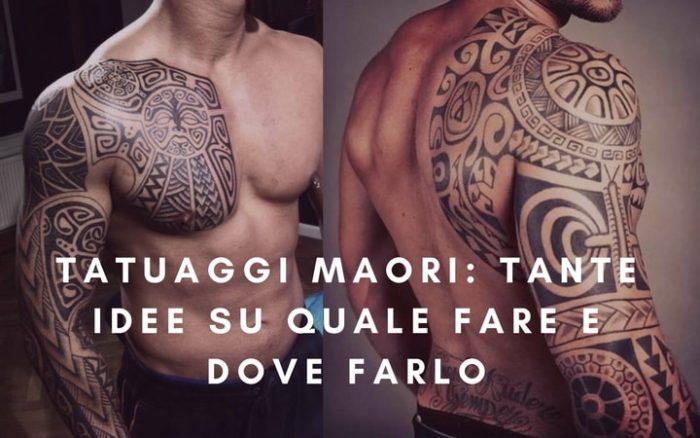 Tatuaggi Maori idee