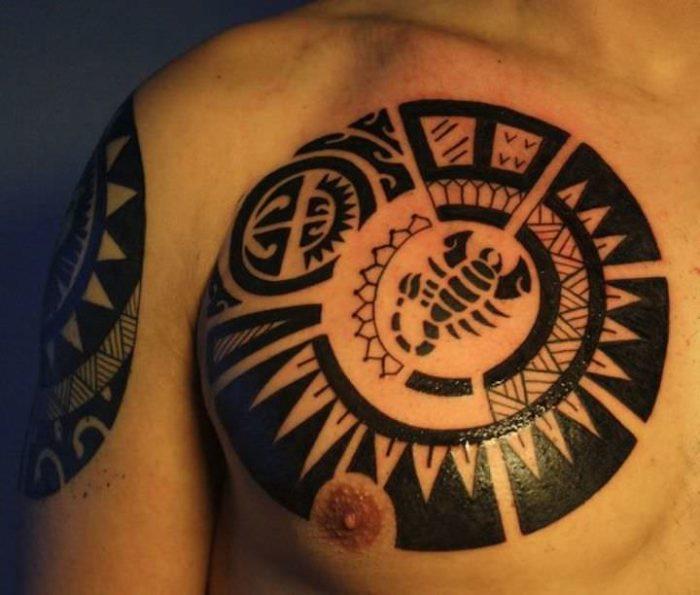 tatuaggio polinesiano