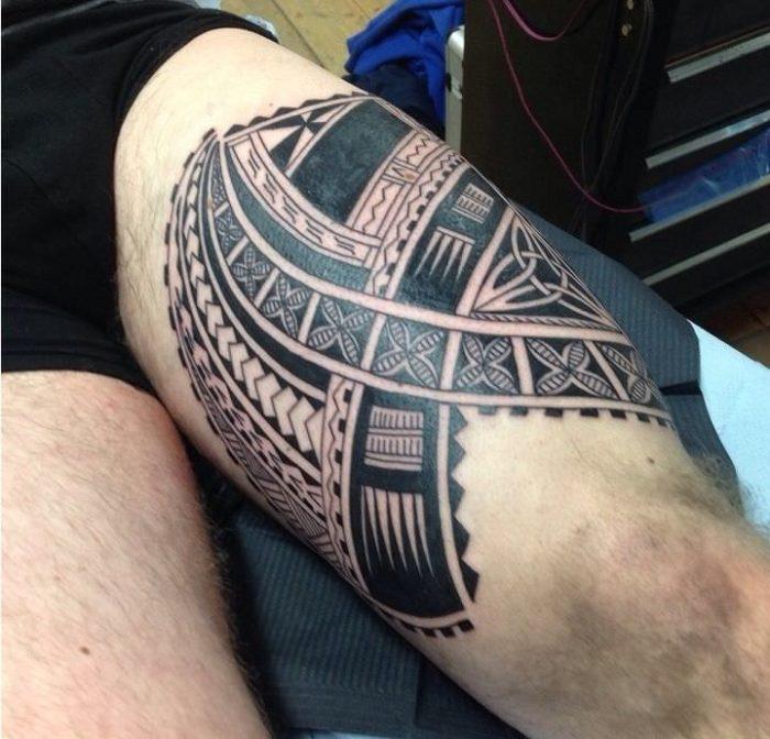 maori gamba