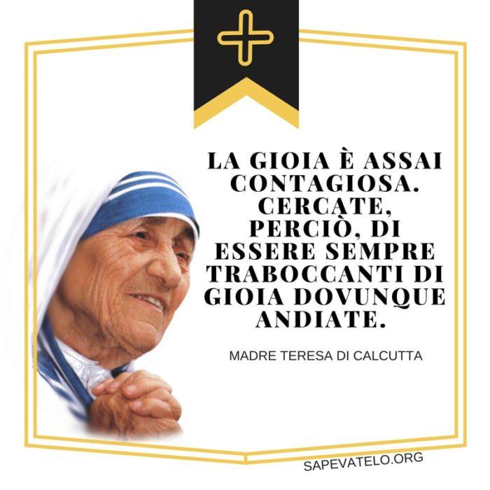 Le Piu Belle Frasi Di Madre Teresa Di Calcutta Sapevatelo
