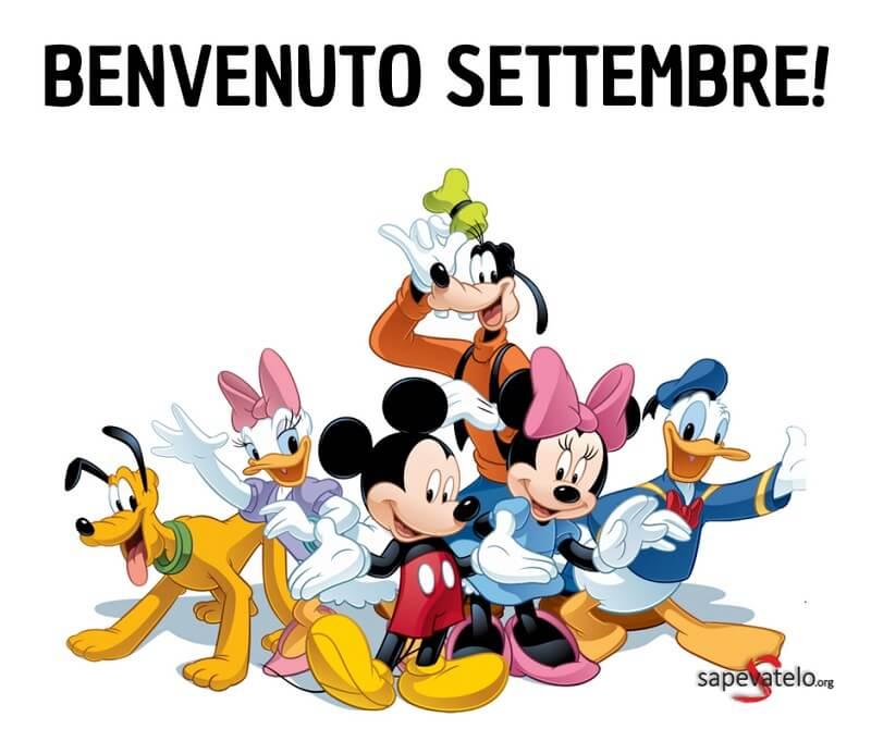 benvenuto settembre amici