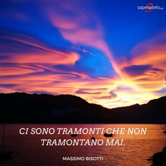 tramonto sole