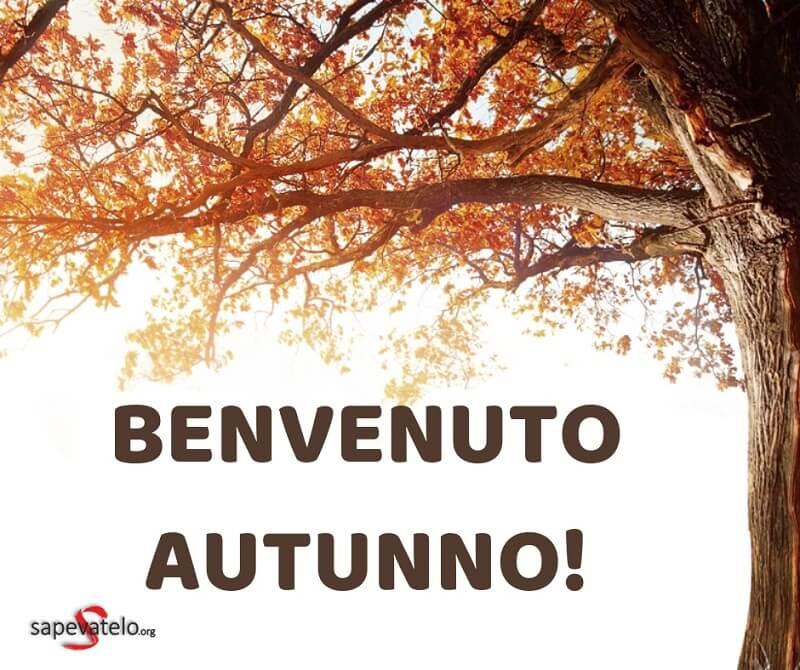 benvenuto autunno