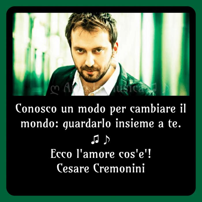 Ecco l'amore cos'è Cesare Cremonini
