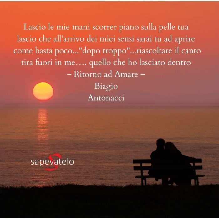 Frasi canzoni d'amore italiane